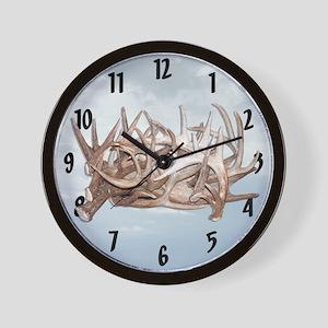 Antler Fanatic Wall Clock