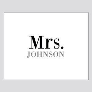 Customized Mr and Mrs set - Mrs Poster Design