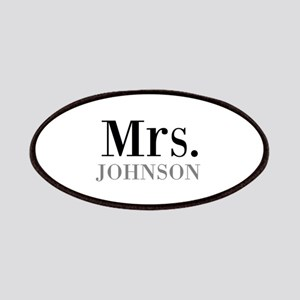 Customized Mr and Mrs set - Mrs Patches