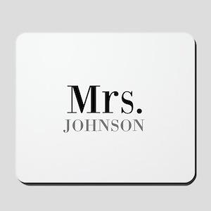 Customized Mr and Mrs set - Mrs Mousepad