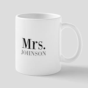 Customized Mr and Mrs set - Mrs Mugs