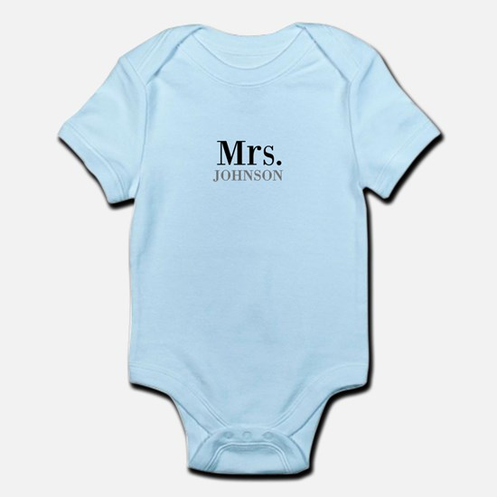Customized Mr and Mrs set - Mrs Body Suit