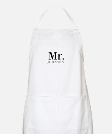 Customized Mr and Mrs set - Mr Apron