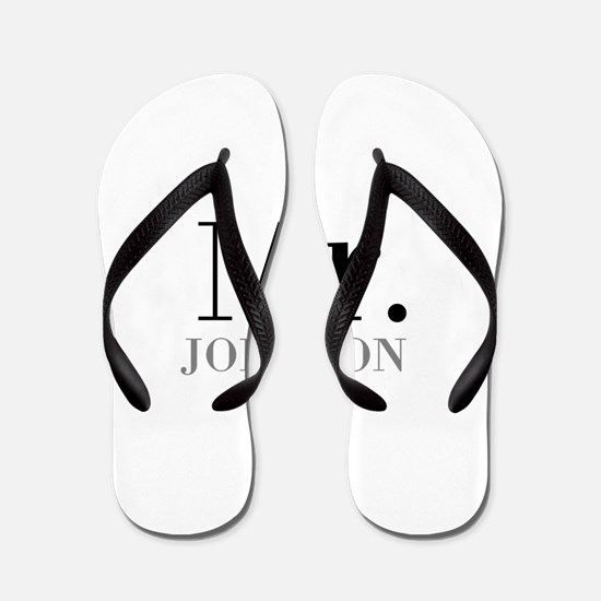 Customized Mr and Mrs set - Mr Flip Flops