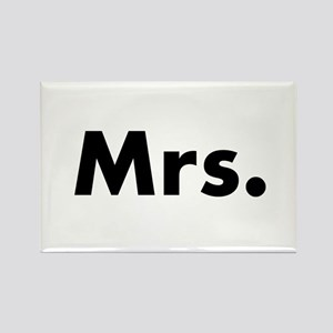 Half of Mr and Mrs set - Mrs Magnets