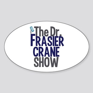 Frasier Crane Show Sticker (Oval)