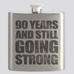 90th Birthday Still Going Strong Flask