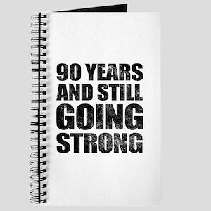 90th Birthday Still Going Strong Journal