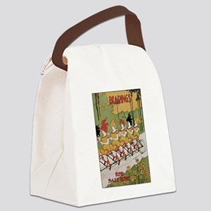 Bearings Bicycle Poster Canvas Lunch Bag