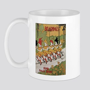 Bearings Bicycle Poster Mug