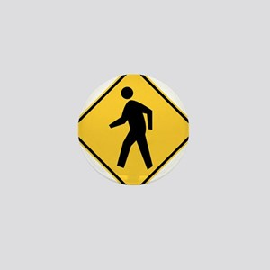 Pedestrian Mini Button