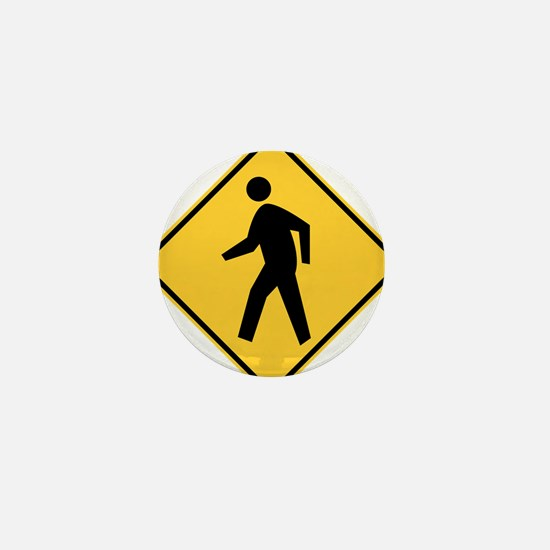 Pedestrian Mini Button