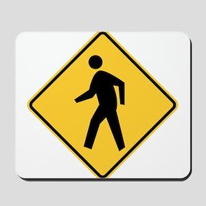 Pedestrian Mousepad