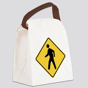 Pedestrian Canvas Lunch Bag