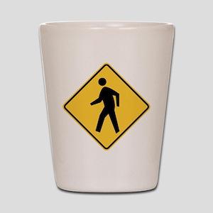 Pedestrian Shot Glass