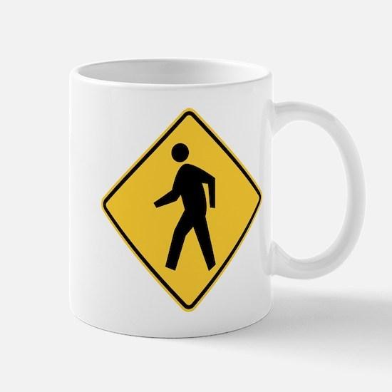 Pedestrian Mugs