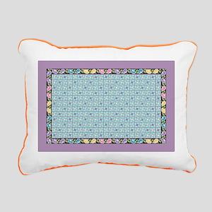 Vintage Bouquet Rectangular Canvas Pillow