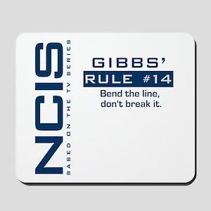 Gibbs' Rule #14 Mousepad