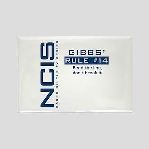 Gibbs' Rule #14 Rectangle Magnet