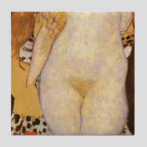 Klimt Adam and Eve Part 2 of 3 Art Tile Set