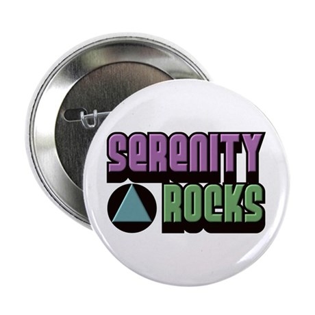 Serenity Rocks 12 Step Recovery Button