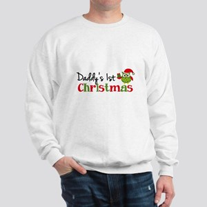 Daddy's 1st Christmas Owl Sweatshirt