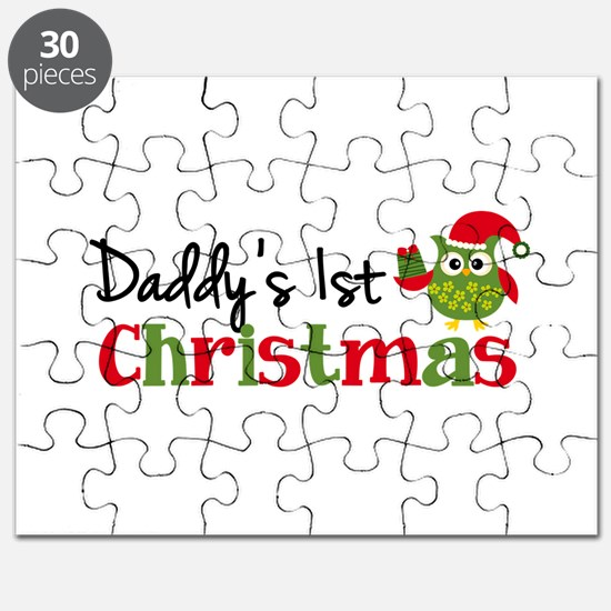 Daddy's 1st Christmas Owl Puzzle