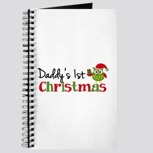 Daddy's 1st Christmas Owl Journal