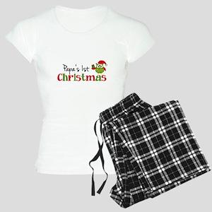 Papa's 1st Christmas Owl Women's Light Pajamas