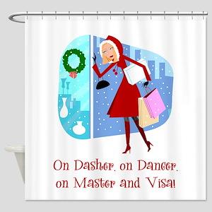 mastervisa Shower Curtain