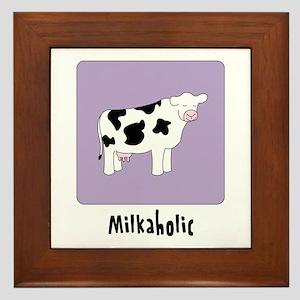 Milkaholic Framed Tile