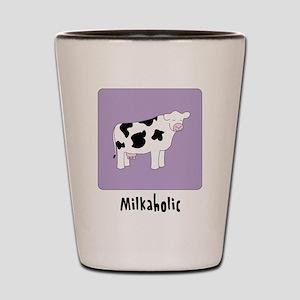 Milkaholic Shot Glass