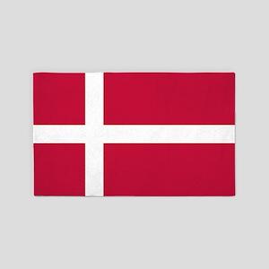 Danish Flag 3'x5' Area Rug