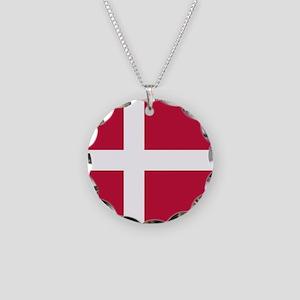 Danish Flag Necklace
