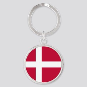 Danish Flag Keychains