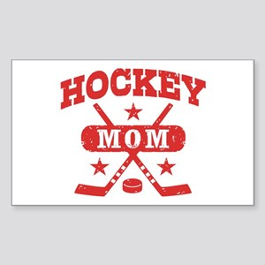 Hockey Mom Sticker (Rectangle)