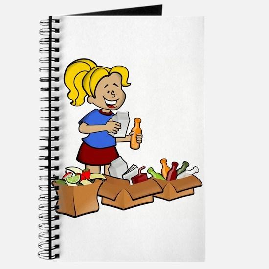 Girl Recycling Journal