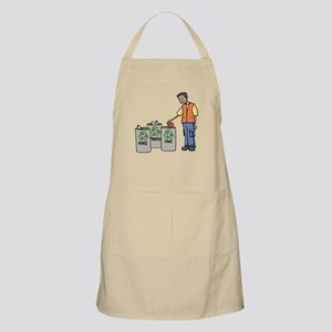 Recycling Trash Cans Apron