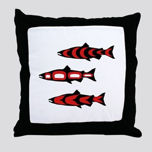 SCHOOL PACIFIC Throw Pillow