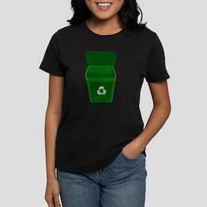 Green Recycling Trash Can T-Shirt
