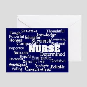 Nurse Bag 4 Greeting Cards