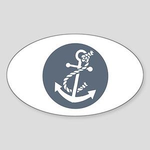 Nautical Anchor Sticker