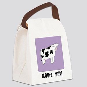 Moore Milk! Canvas Lunch Bag