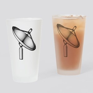 Satellite Dish Drinking Glass
