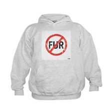 Kid's No Fur Hoody Sweatshirt