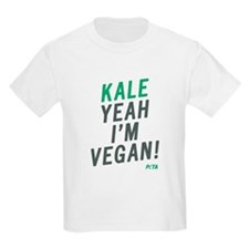 Kid's Kale Yeah I'm Vegan T-Shirt