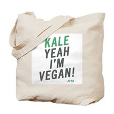 Kale Yeah I'm Vegan Tote Bag