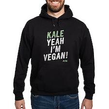 Kale Yeah I'm Vegan Hoody Sweatshirt