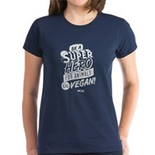 Ladies Be A Superhero For Animals T-Shirt