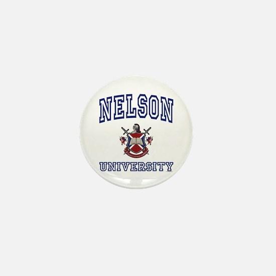 NELSON University Mini Button